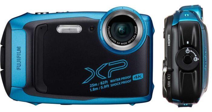 Fujifilm XP140 интерфейс