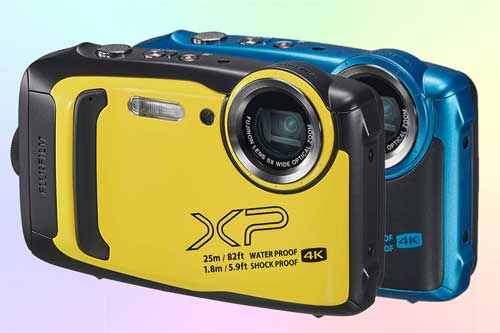 Fujifilm XP140 - компактный фотоаппарат 4K