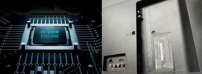 Hisense H65U8B интерфейсы