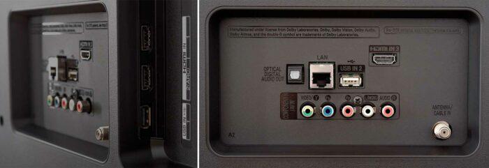 LG UM7100 интерфейсы