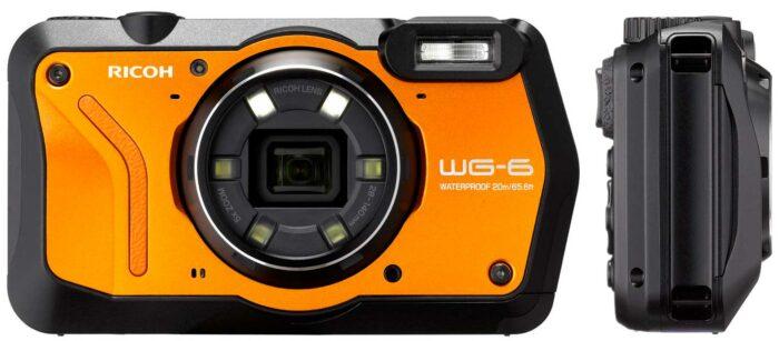 Ricoh WG-6 дизайн