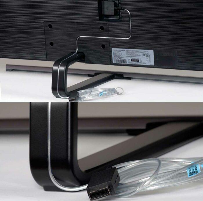 Samsung QE55Q80RAU задняя панель
