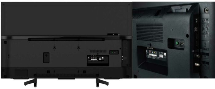 Sony KD-43XG7096 интерфейс