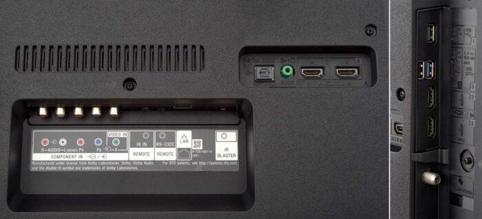 Sony KD-49XG8196 интерфейсы