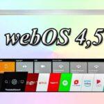 webOS 4.5 и её отличия от webOS 4.0
