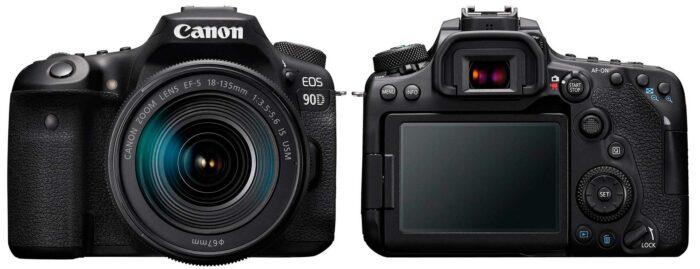 Canon EOS 90D дизайн