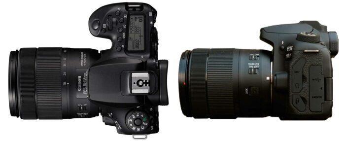 Canon EOS 90D интерфейсы