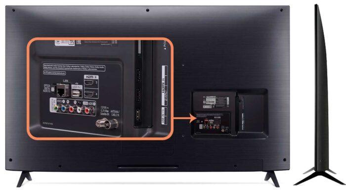 LG 49SM8000 интерфейсы