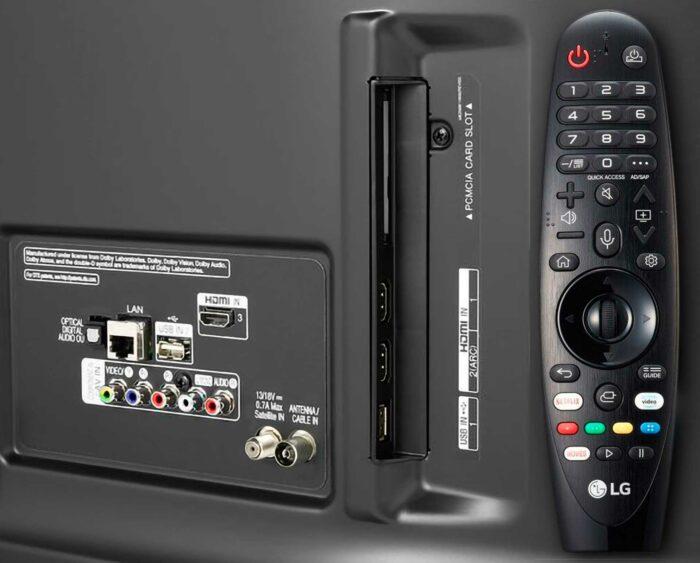 LG 49UM7450PLA интерфейсы