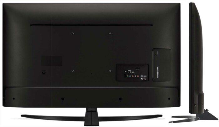 LG 49UM7450PLA задняя панель