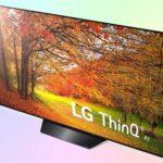 LG OLED55B9P- бюджетный телевизор OLED от LG