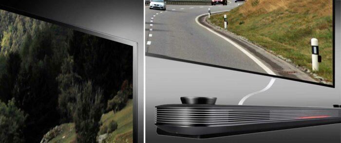 LG OLED65W9P дизайн