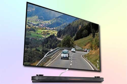 LG OLED65W9P - флагманский телевизор OLED 4K