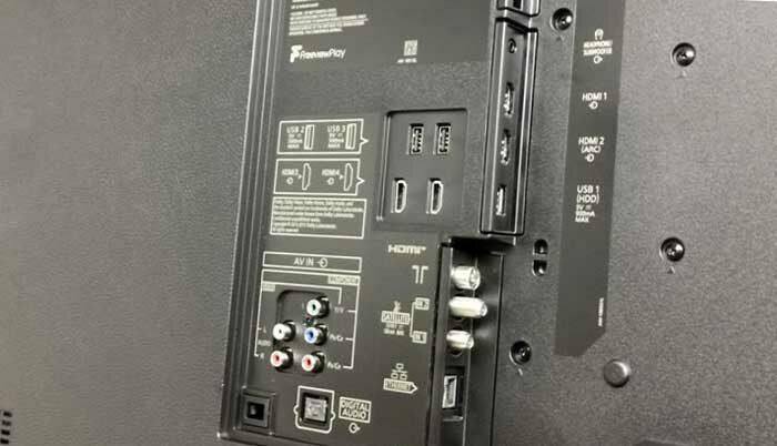 Panasonic TX-65GZR1000 интерфейсы