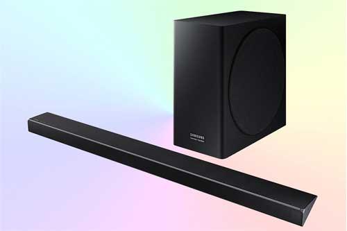 Samsung HW-Q70R - звуковая панель с Dolby Atmos