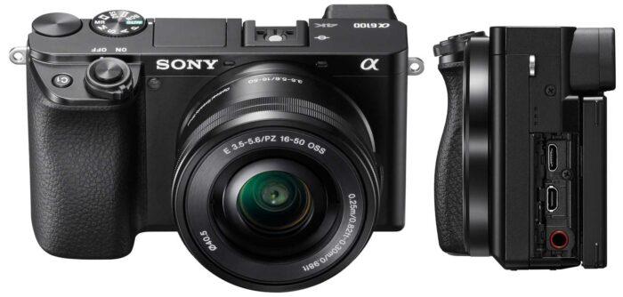 Sony Alpha ILCE-6100 интерфейсы