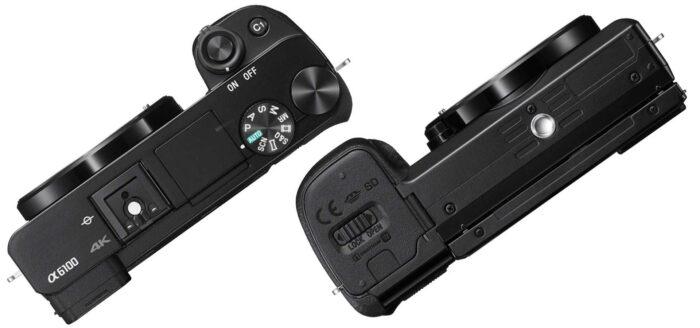 Sony Alpha ILCE-6100 дизайн
