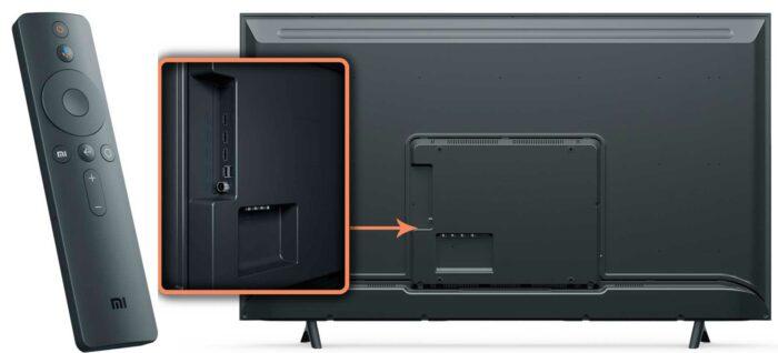 Xiaomi Mi TV 4X Pro 55 интерфейсы