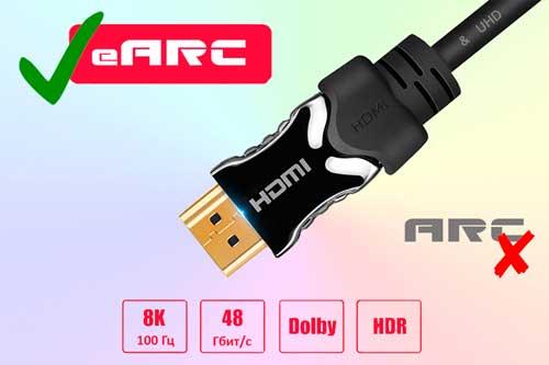 HDMI ARC и его отличия от eARC