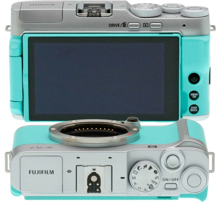 Fujifilm X-A7 экран