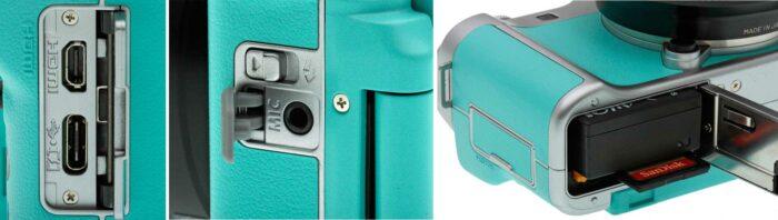 Fujifilm X-A7  интерфейсы