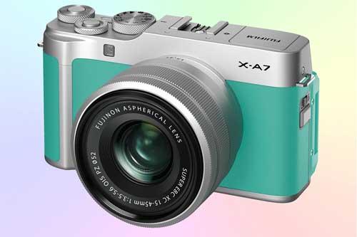 Fujifilm X-A7 беззеркальный фотоаппарат со сменной оптикой