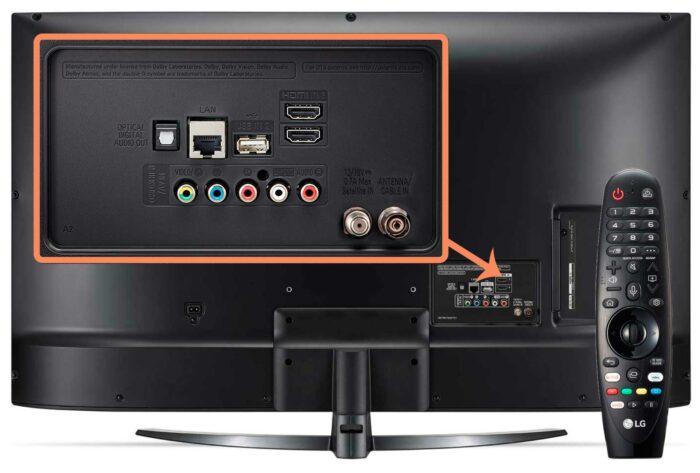 LG 43UM7650 интерфейсы