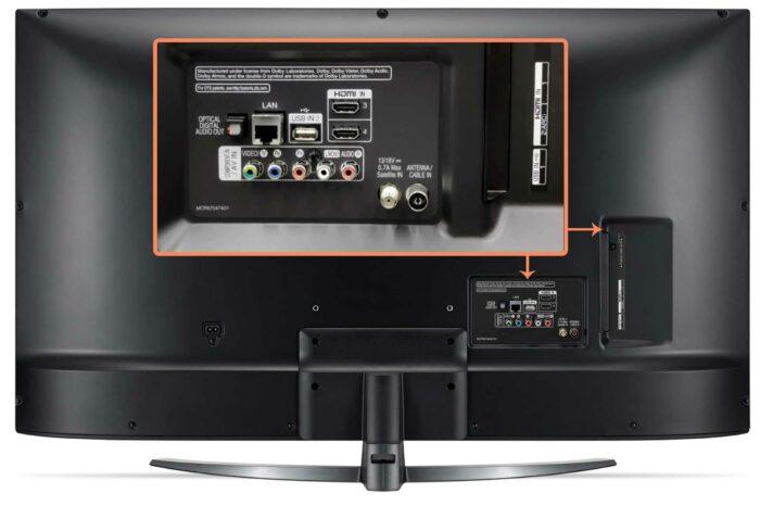 LG 50UM7600 интерфейсы