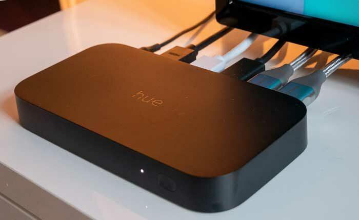Philips Hue Play HDMI Sync Box подключение и настройки