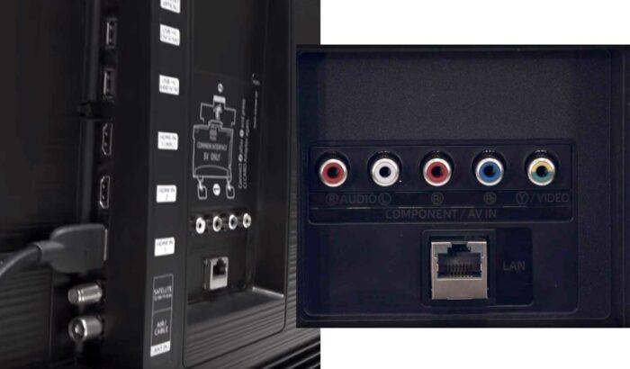 Samsung UE55RU7120U интерфейсы