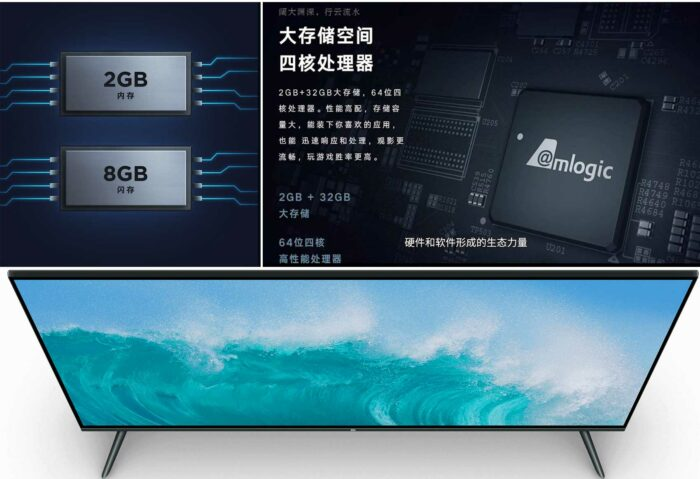 Xiaomi Mi TV E55A возможности