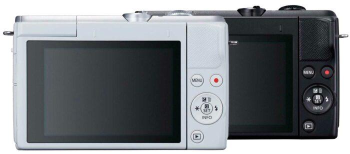 Canon EOS M200 экран