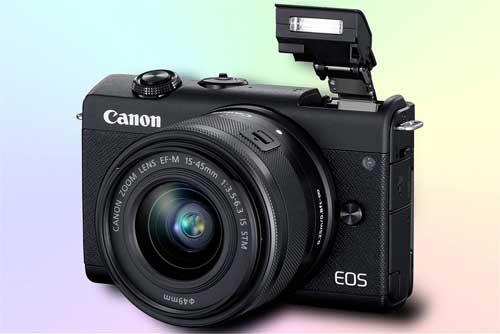 Canon EOS M200 - беззеркальный фотоаппарат 4К начального уровня
