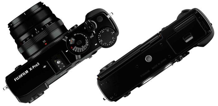 Fujifilm X-Pro3 управление