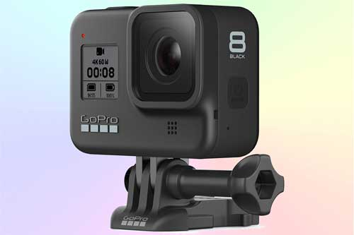 GoPro Hero8 Black - экшн-камера с несъёмным объективом