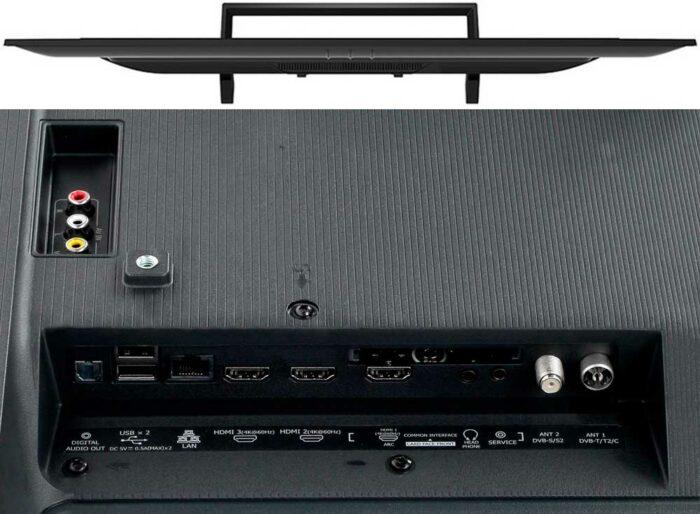 Hisense H55B7300 подключения