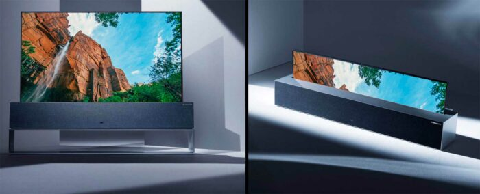 LG Signature OLED TV R обзор
