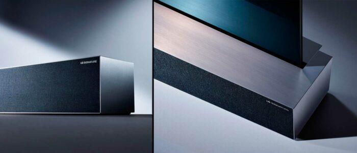 LG Signature OLED TV R звук