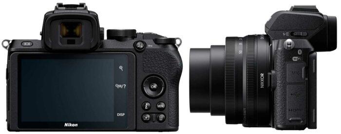 Nikon Z50 экран