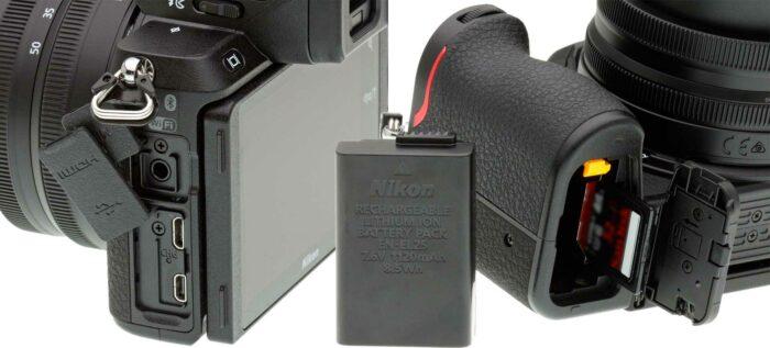 Nikon Z50 питание