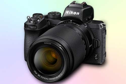 Nikon Z 50 Беззеркальный фотоаппарат APS-C