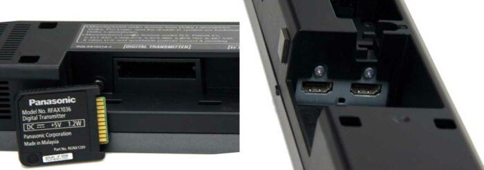 Panasonic SC-HTB520 интерфейсы