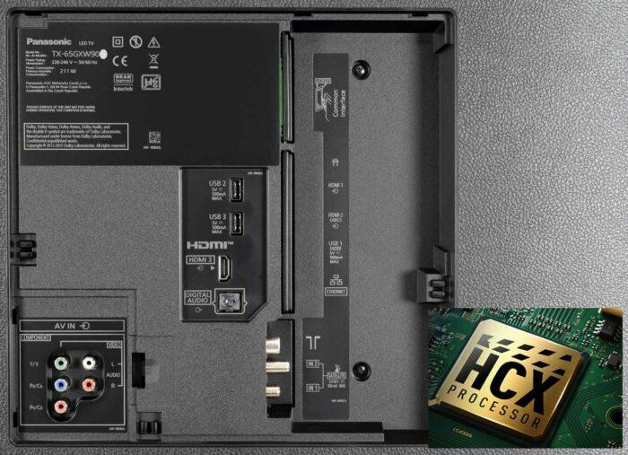 Panasonic TX-49GXR900 интерфейсы