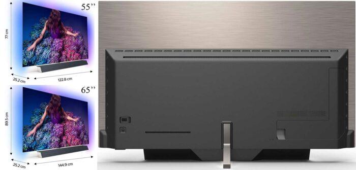 Philips 55OLED934 дизайн