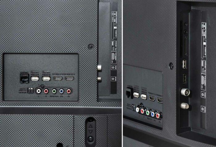 Sharp LC-60UI9362E интерфейсы