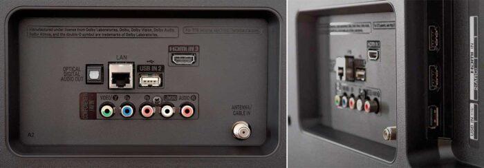 LG 49UM7090 интерфейсы