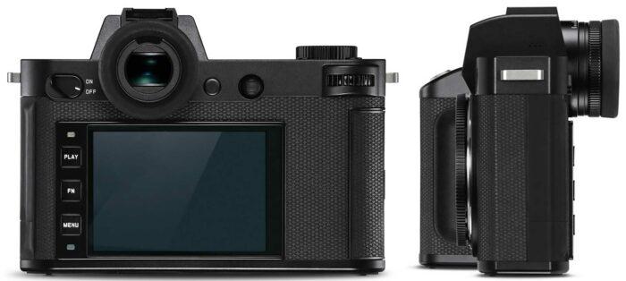 Leica SL2 экран