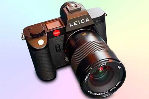 Leica SL2 - фотоаппарат с видео 5К