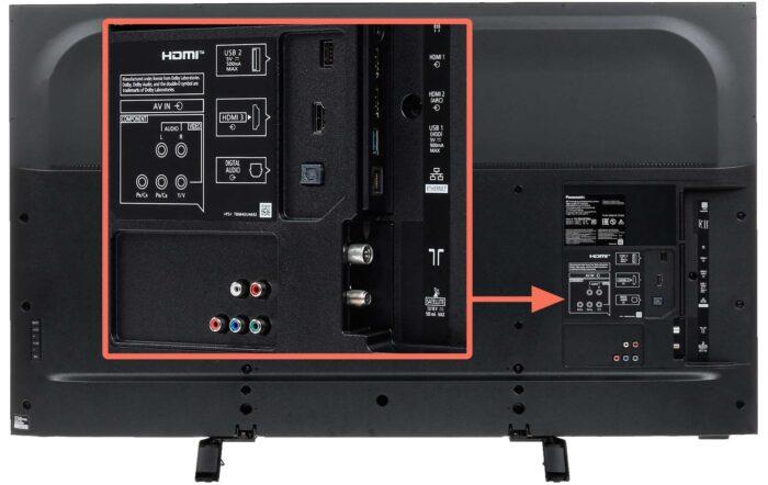 Panasonic TX-50GXR700 интерфейс