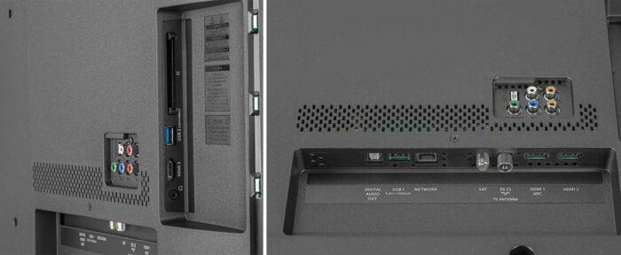 Philips 50PUS6704 подключения
